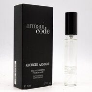 GIORGIO ARMANI CODE FOR MEN EDT 20ml (спрей)