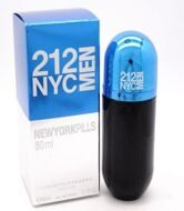 Carolina Herrera 212 NYC MEN Blue Pills pour hommе 80ml