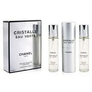 CHANEL CRISTALLE EAU VERTE FOR WOMEN EDT 3x20ml