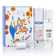MOSCHINO CHEAP&CHIC I LOVE LOVE FOR WOMEN EDT 3x20ml