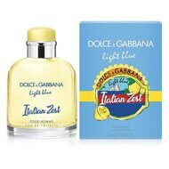 DOLCE & GABBANA LIGHT BLUE ITALIAN ZEST FOR MEN EDT 125ml