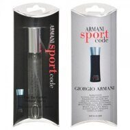GIORGIO ARMANI CODE SPORT FOR MEN EDP 15 ML NEW