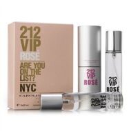 CAROLINA HERRERA  212 VIP ROSE FOR WOMEN EDP 3x20ml